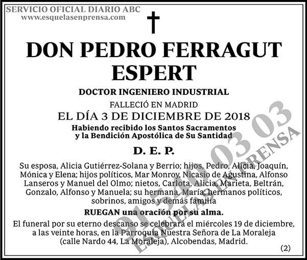 Pedro Ferragut Espert